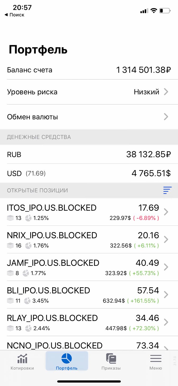 Я инвестирую в IPO с начала года
