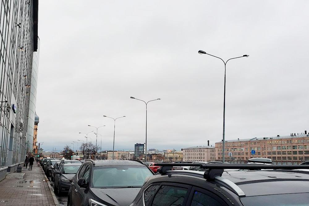 Погода в Петербурге как обычно