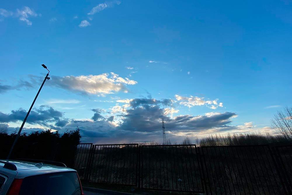 Очень красивое небо сегодня