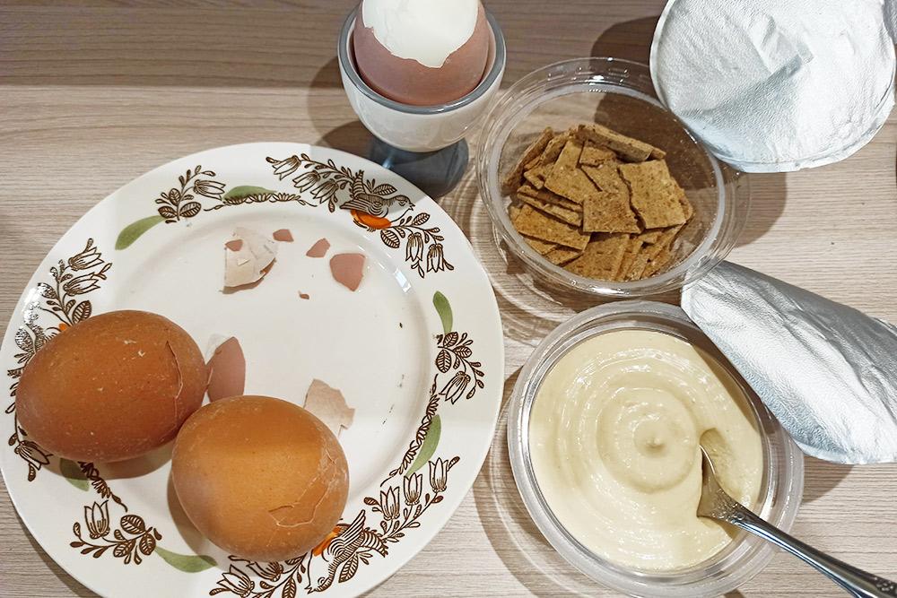 Завтракаю я всегда одинаково
