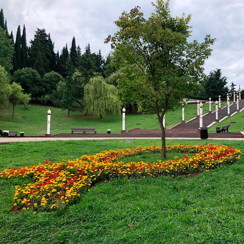 В двух шагах от дома у нас Завокзальный мемориальный комплекс. Там нет захоронений, он символический. Часто тут гуляем. Большая зеленая зона рядом с домом — что может быть лучше