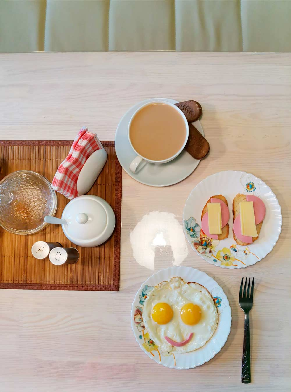 Веселенький получился завтрак