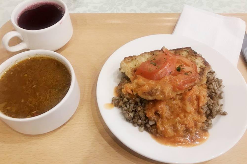 Примеры типичных обедов в нашей столовой