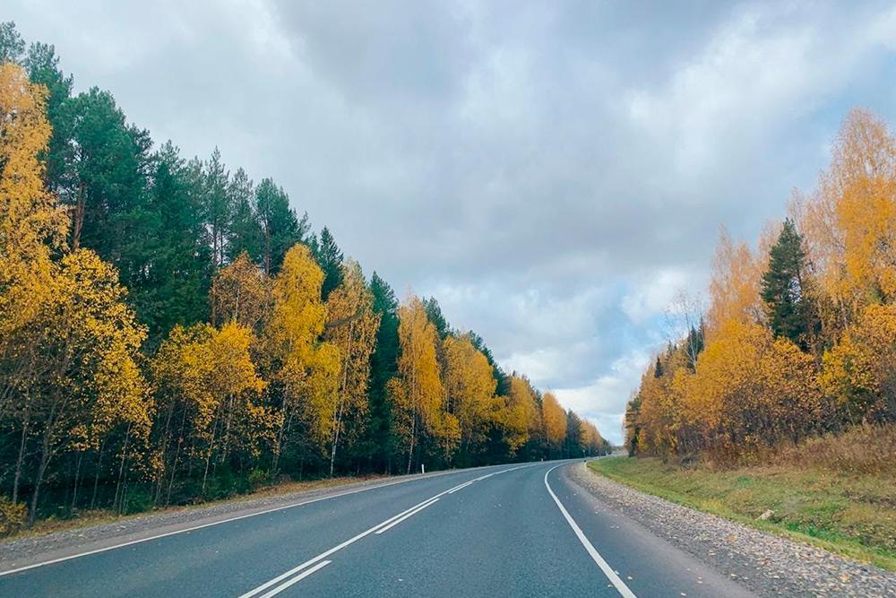 Пейзажи по дороге к бабушке