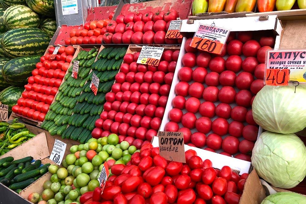 На рынке у овощей хотя бы есть вкус
