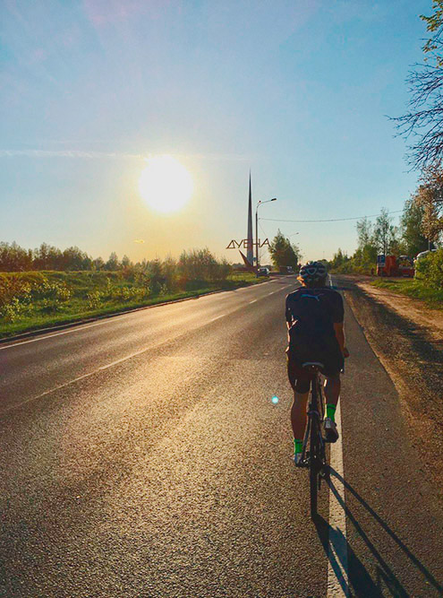 Сегодня на тренировке проехал почти 80 км