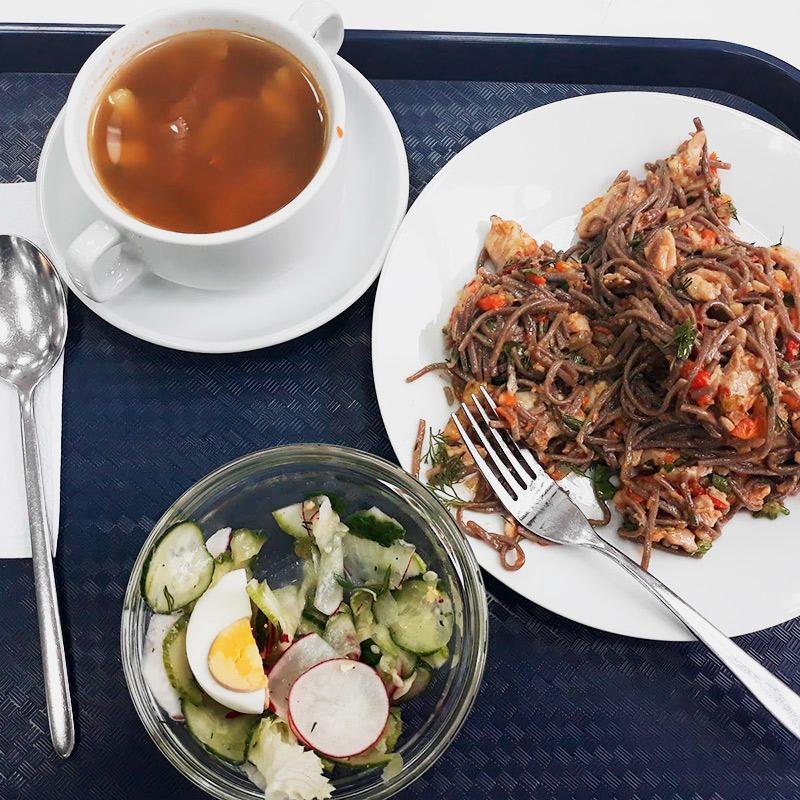 Еще один разорительный обед в кафетерии