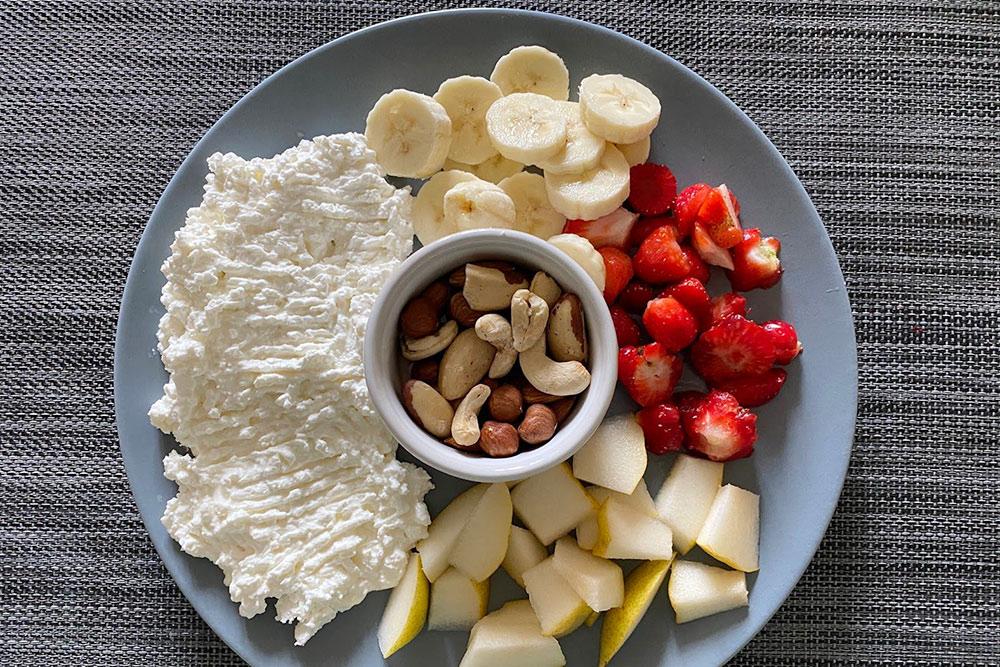 Я люблю перекусить между завтраком и полноценным обедом