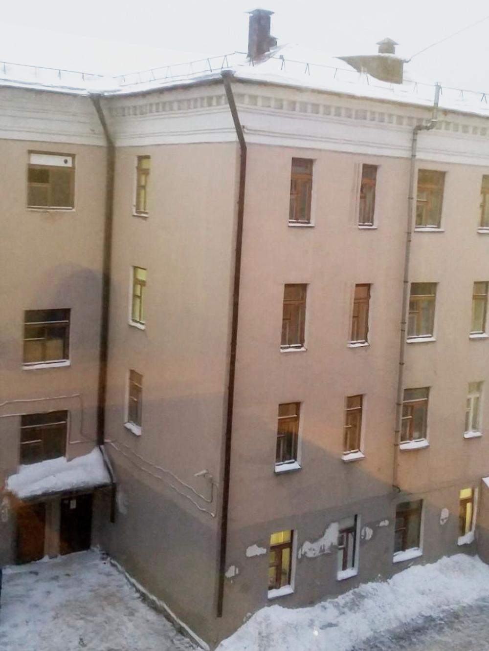 Вид из окна офиса