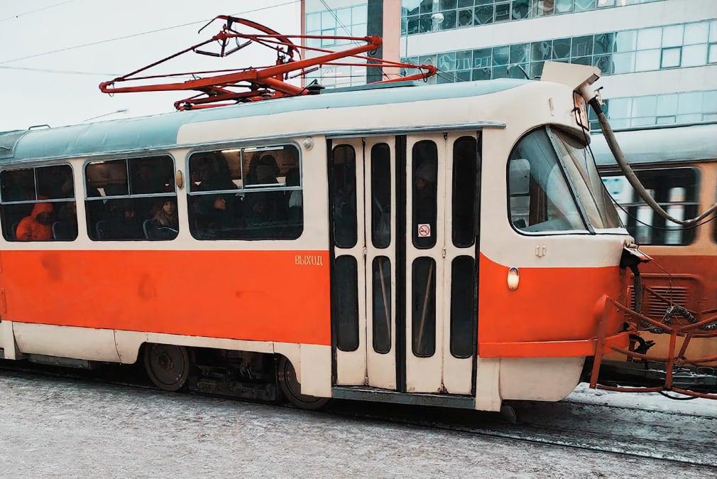 По Екатеринбургу до сих пор ходят трамваи 1960-х годов