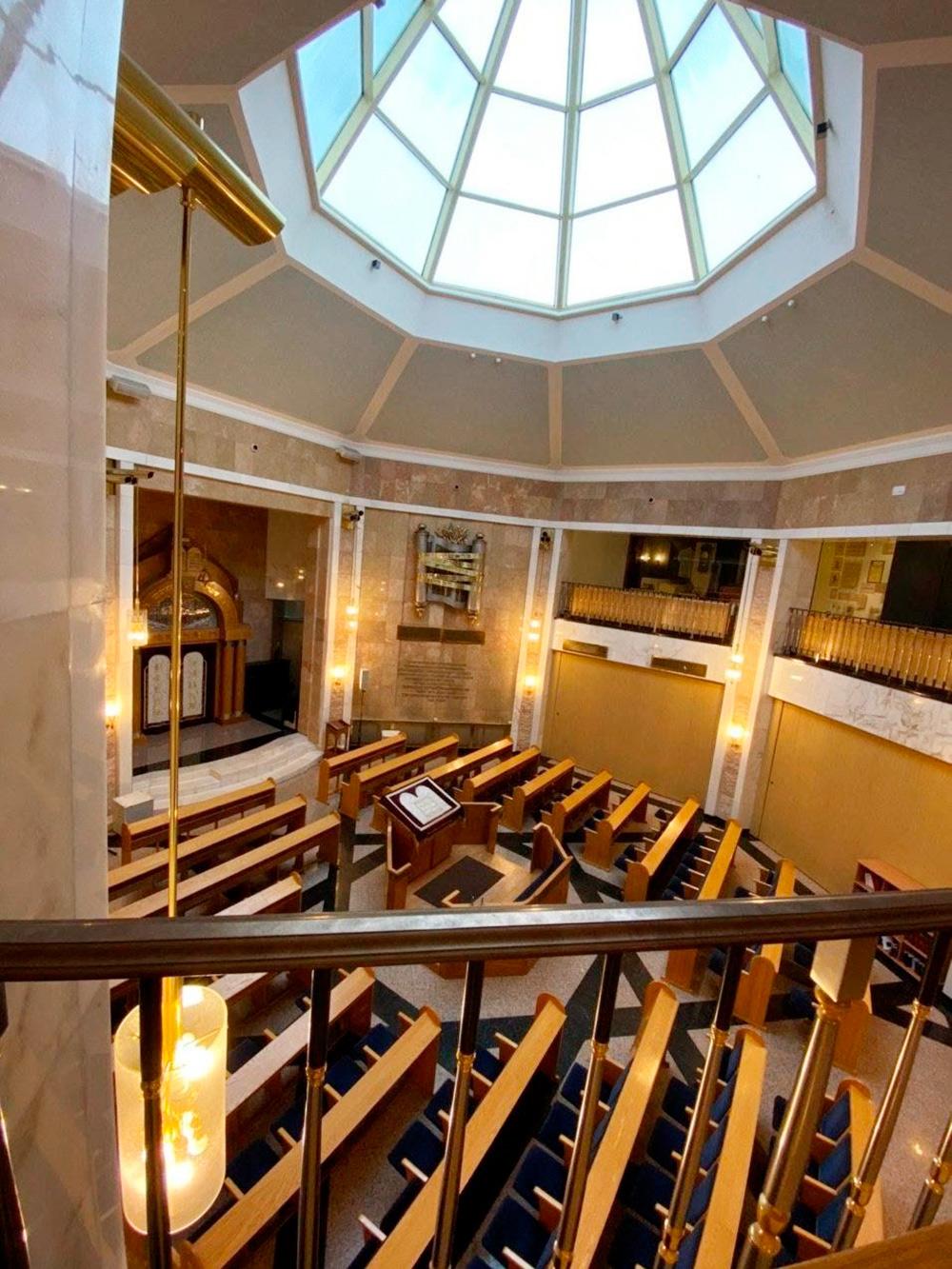 В синагоге на Поклонной горе