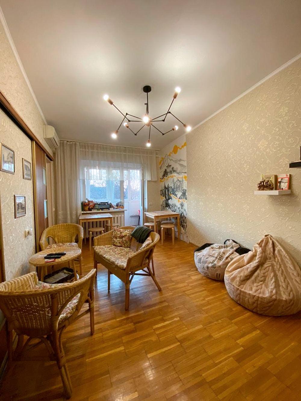 Гостиная в хостеле