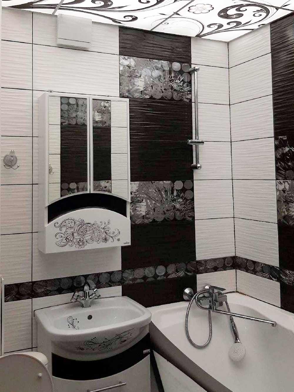 На такую ванную не жалко даже свадебных денег
