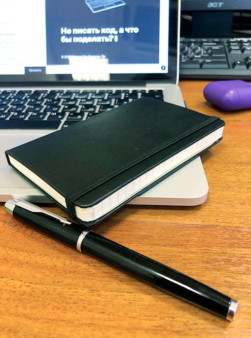 Мой дневник и перьевая ручка