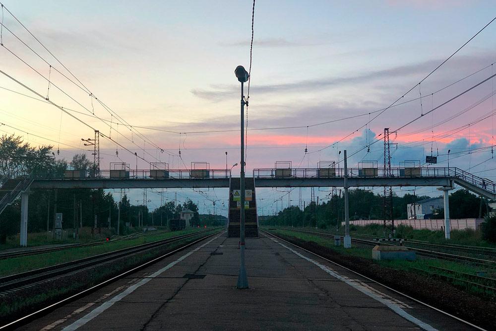 Уезжаю обратно в Москву с этой станции
