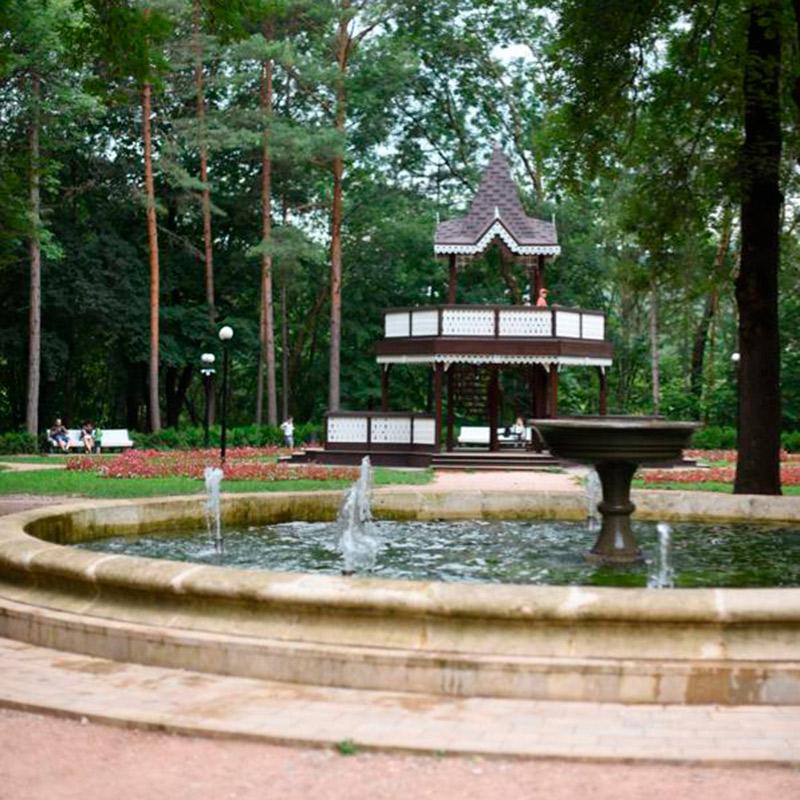 Красивые объекты в Кисловодском парке