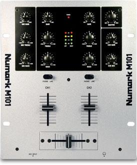 Numark M101, 7000 р.. Просто пульт. Собирает два сигнала в один. Непригоден для скретча