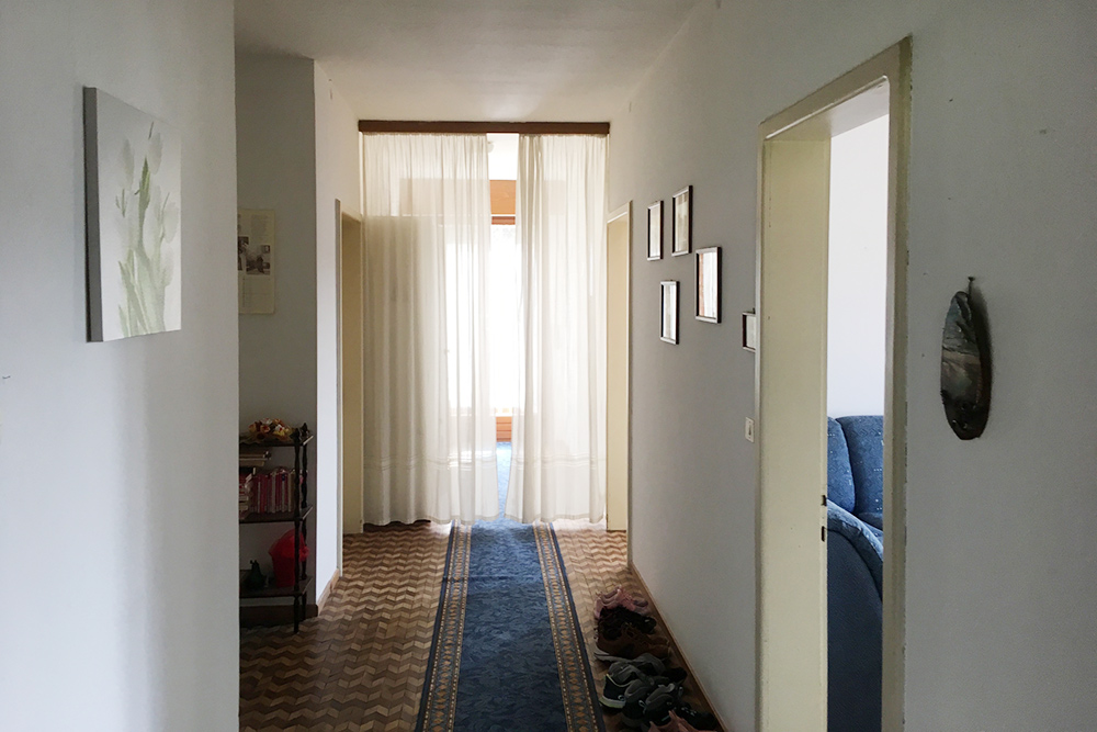Моя новая квартира, коридор