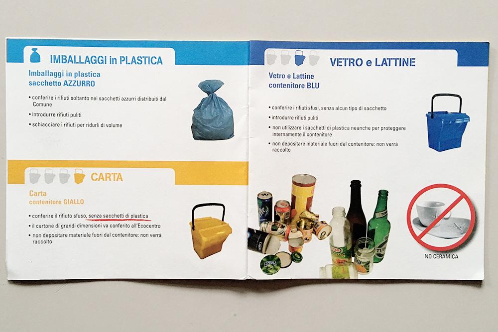 Инструкция по раздельному сбору мусора