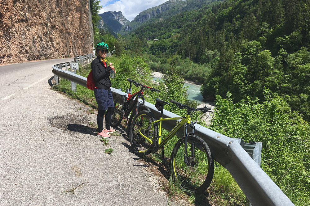 На велосипеде по Доломитам