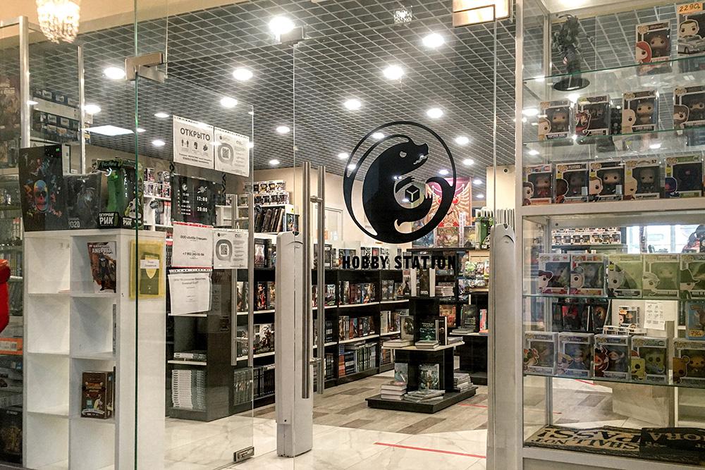 Кроме магазина, в «Хобби Станции» есть центр, в котором учат играть и окрашивать миниатюры для игр