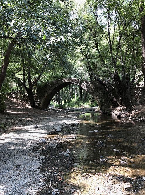 Чем дождливее сезон, тем бурнее река. Прохлада от горной реки и тень от деревьев — то что нужно, когда на побережье жара