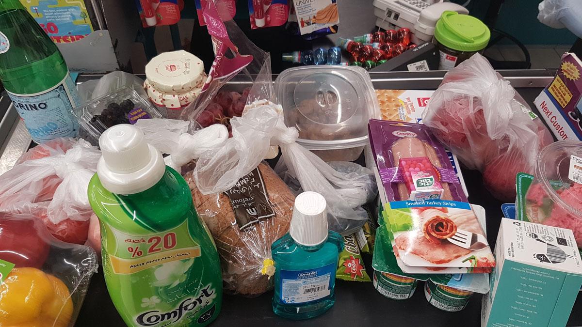 Мои покупки в супермаркете на неделю