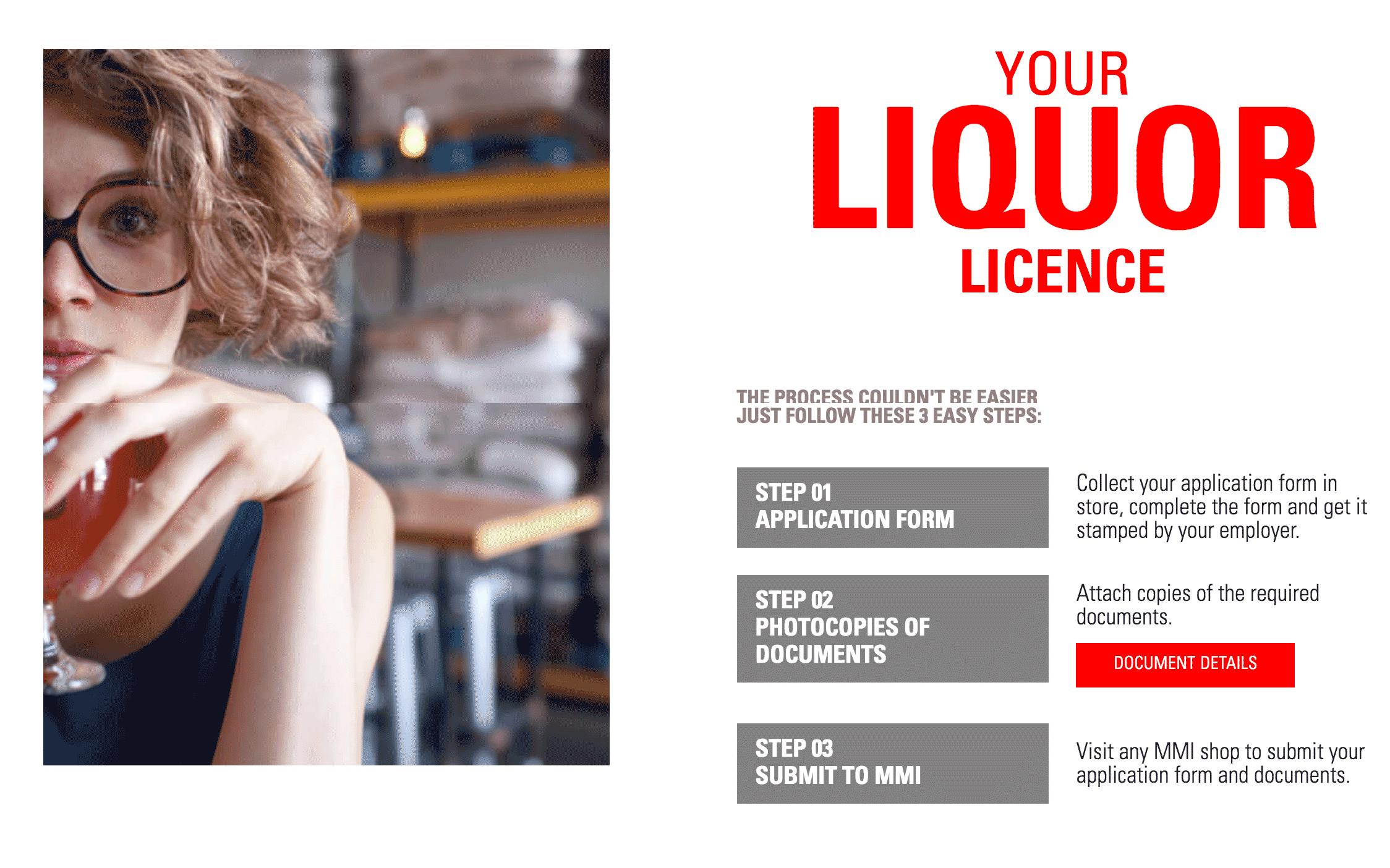 На сайте торговой компании «Эм-эм-ай», продающей алкоголь в ОАЭ, пошагово расписано, как получить лицензию