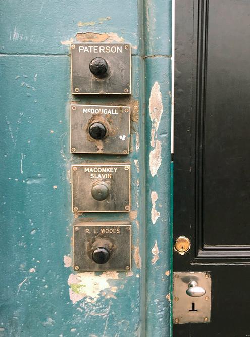 Звонки в отдельные квартиры в общей парадной