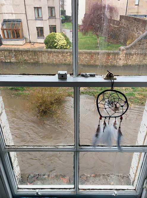 Викторианское окно в нашей квартире