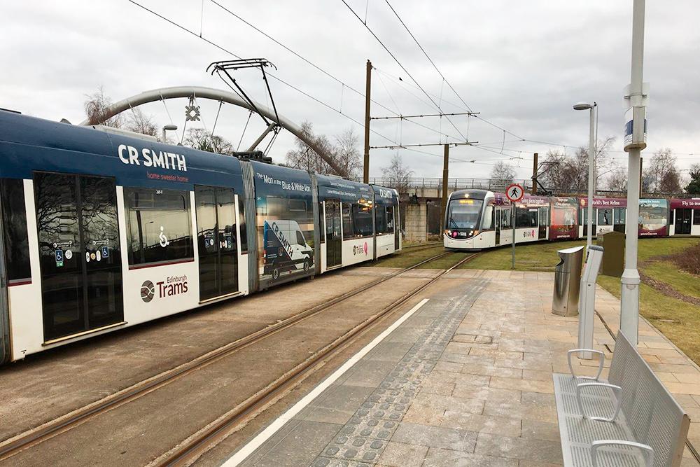 Эдинбургский трамвай