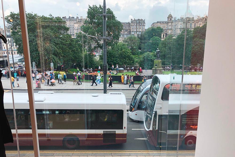 Пробки из общественного транспорта