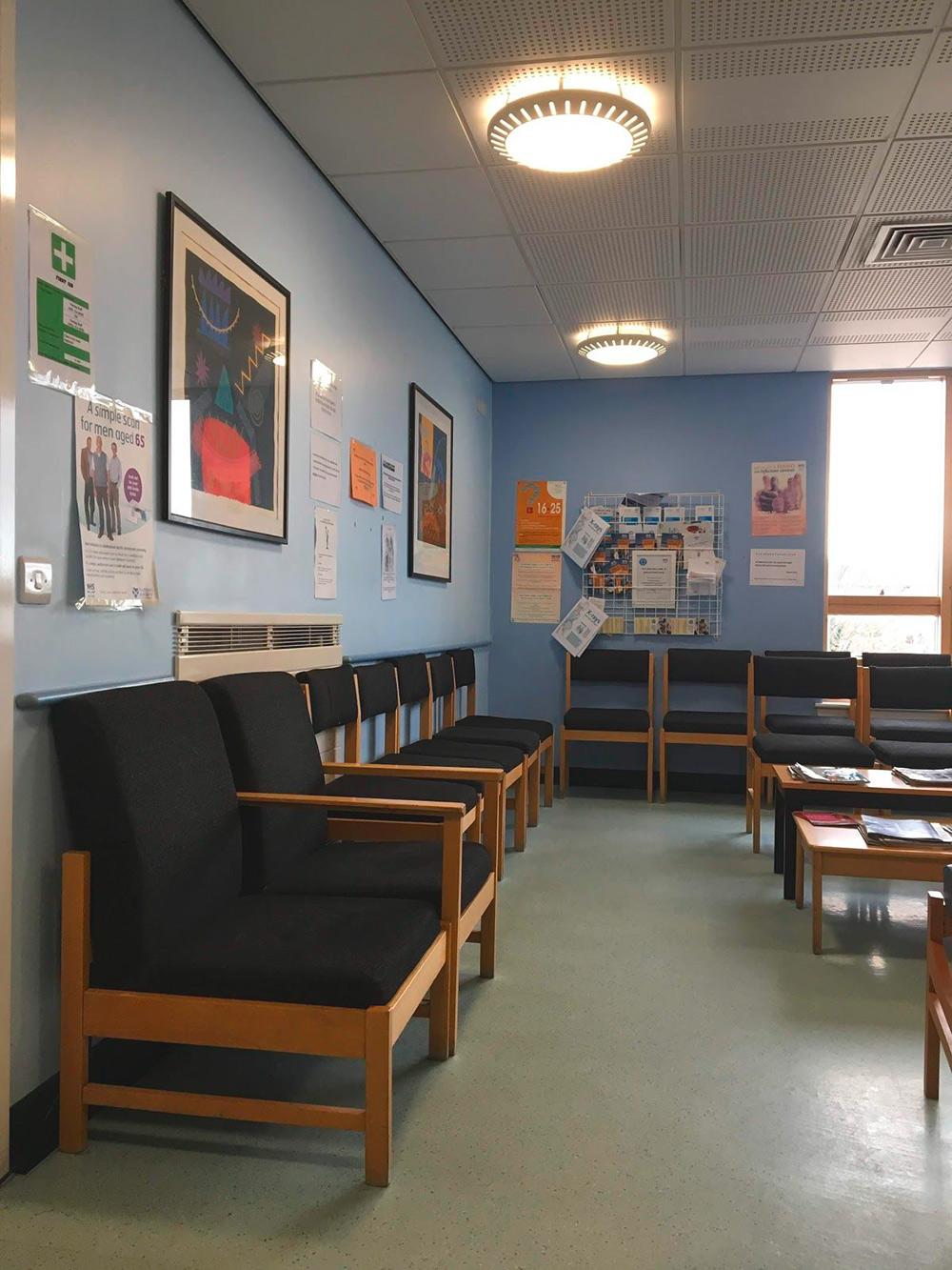 Приемное отделение в клинике