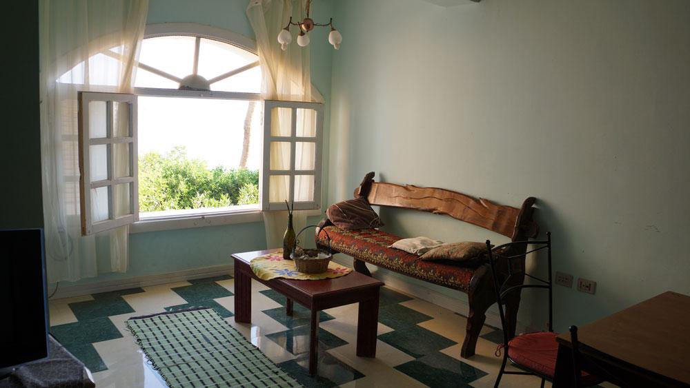 Эти трехкомнатные апартаменты на 5—6 человек стоят 13€ в день — тут мы и жили