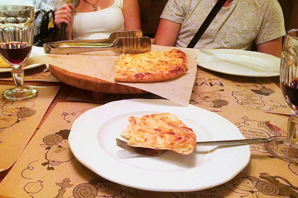 Посидели с друзьями в грузинском кафе