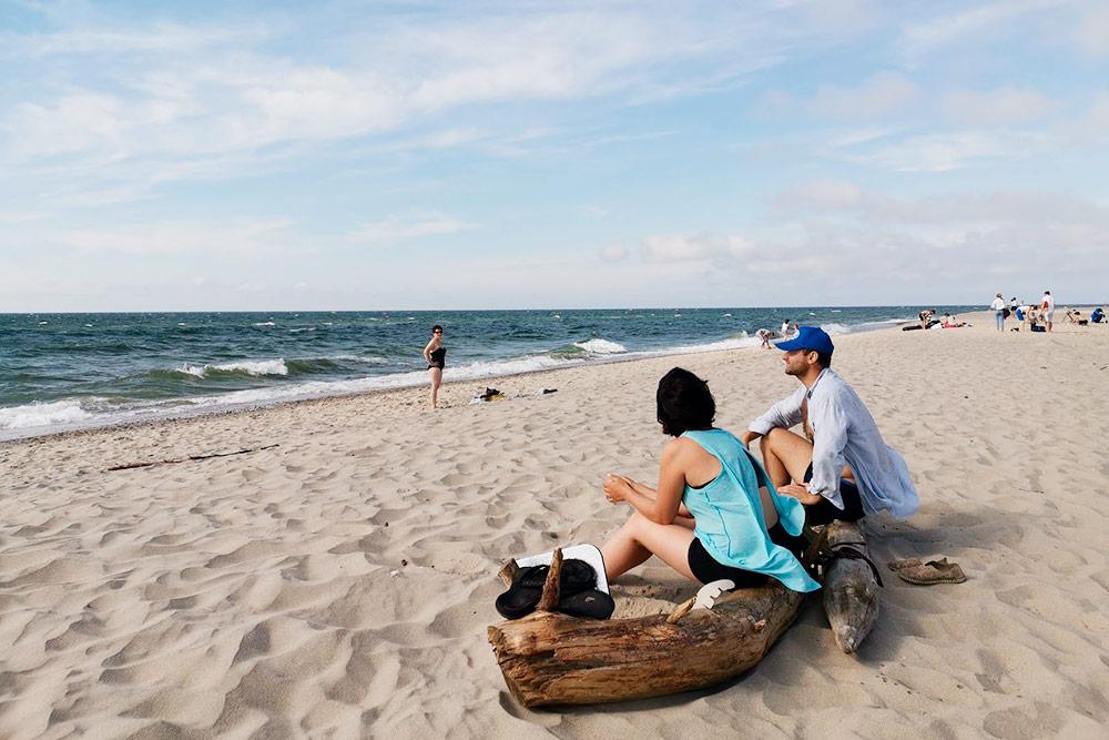 Балтийское море было в 5 минутах ходьбы от лагеря