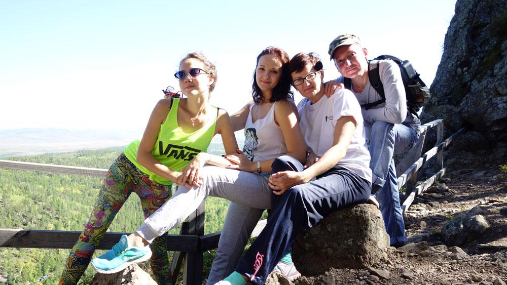 Вячеслав, Татьяна и их дети