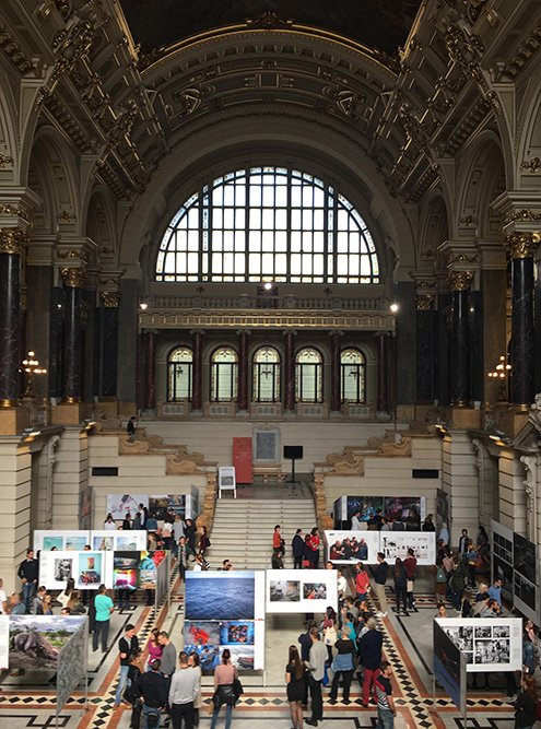 В Этнографический музей в Будапеште каждый год приезжает выставка World Press Photo