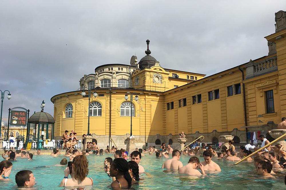 Самые популярные купальни у туристов — Széchenyi