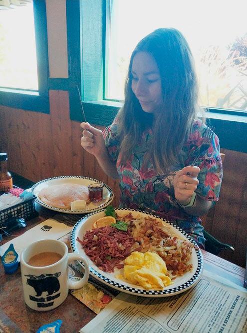 Завтрак настоящего чемпиона, 1400 ккал