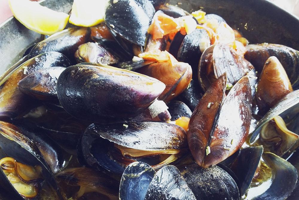 Не хотите тратиться на рестораны — купите мидии на набережной в Балаклаве у рыбаков и приготовьте сами