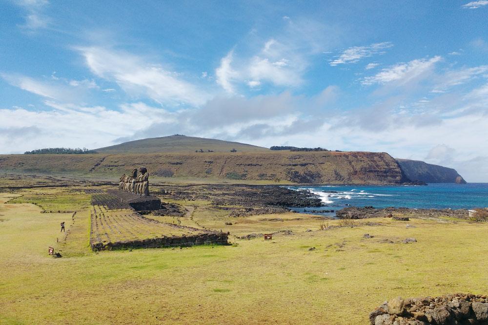 Статуи Аху Тонгарики — 15стражей острова