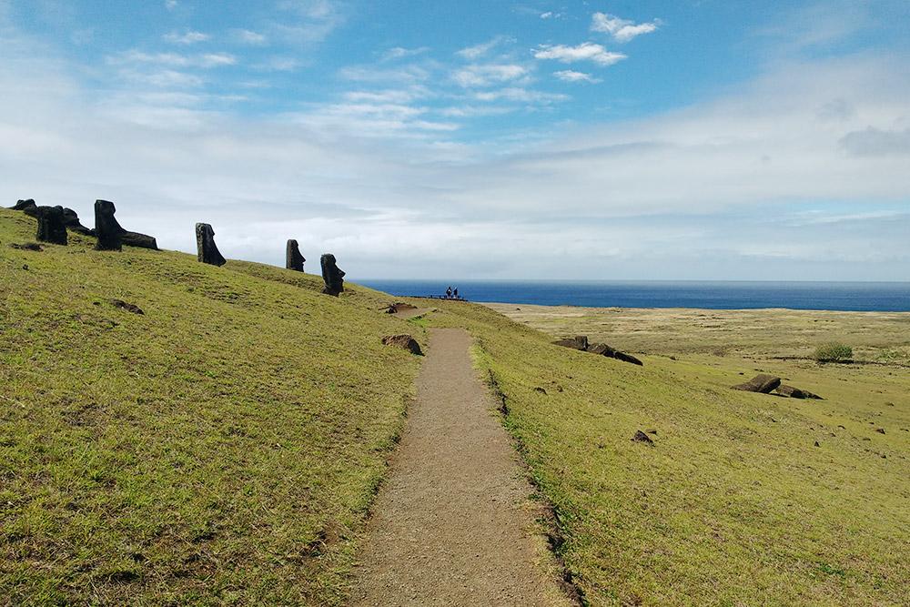 Каменоломня насклоне вулкана