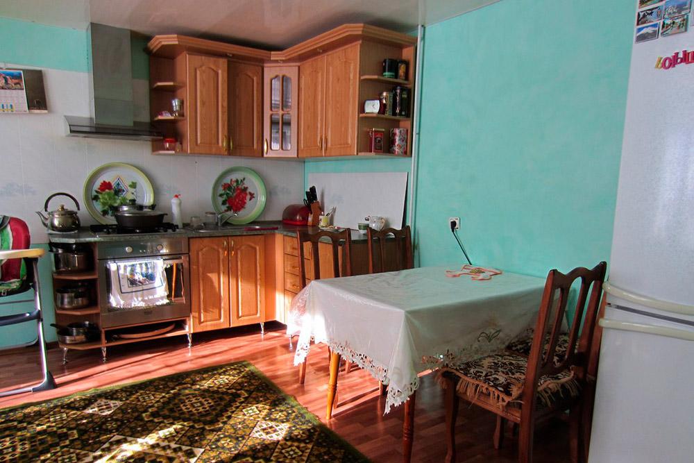 В квартирах, которые мы арендовали, была вся необходимая посуда