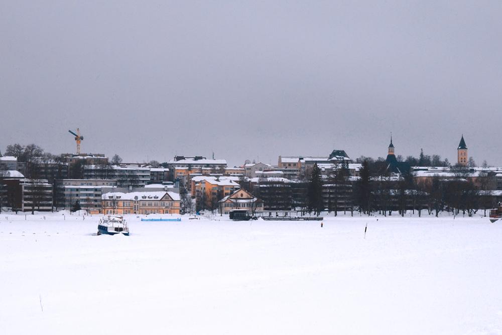 Зимой Лаппеэнранта, как и другие города Финляндии, выглядит довольно уныло: бывает, что солнце не показывается по 30—40 дней подряд. Источник: dr_tr / Flickr