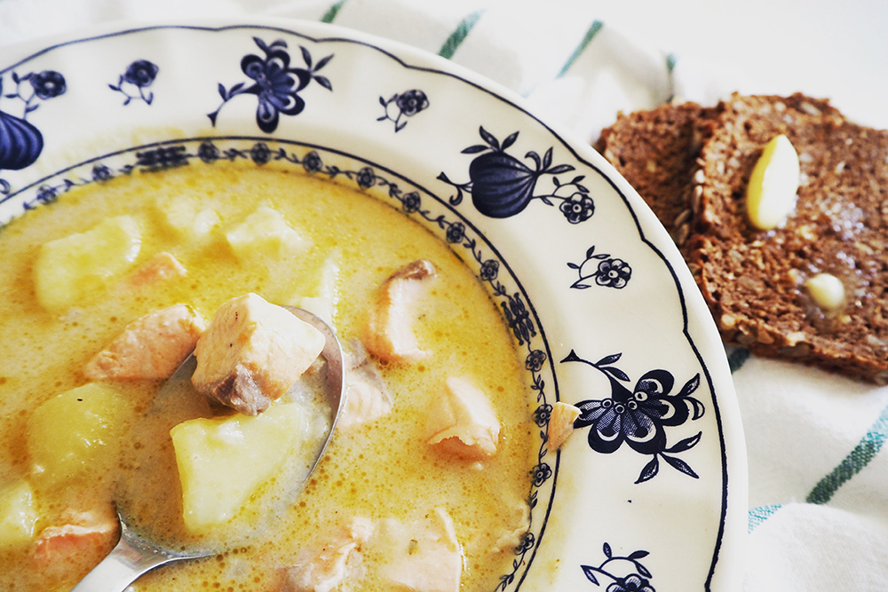 Лохикейто — одно из самых популярных финских блюд. Его часто можно увидеть в меню петербургских и карельских ресторанов. Источник: Mydearkitcheninhelsinki