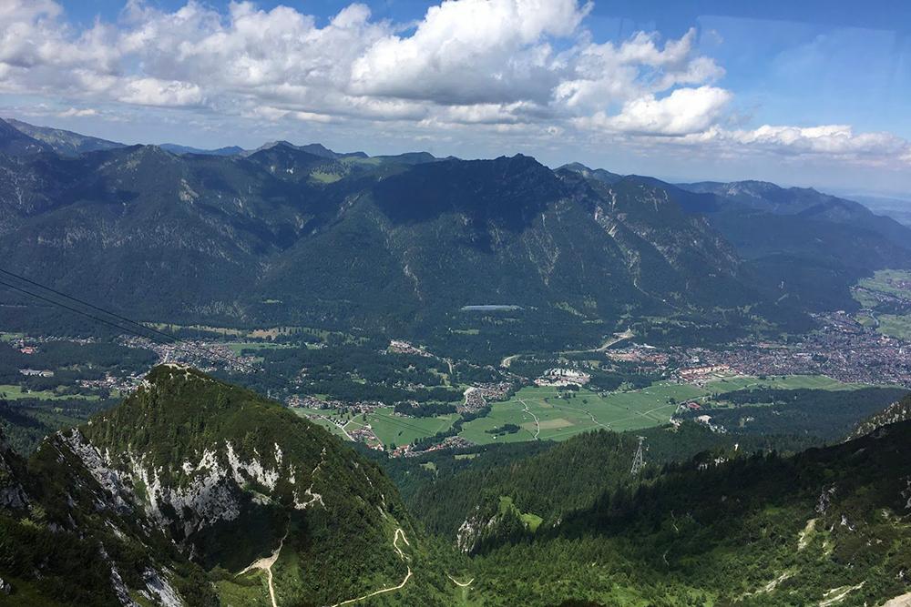 Гармиш летом. Провести субботу в горах — лучшее времяпрепровождение для меня