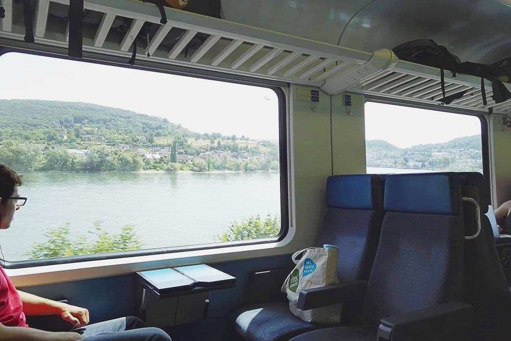 Я люблю ездить по Германии на поезде: виды из окна потрясающие