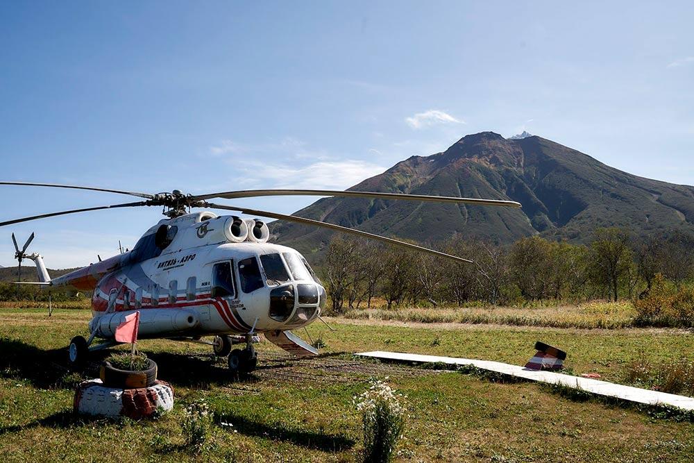 Вертолеты — единственный способ добраться до многих точек Камчатки за несколько часов, а не суток. Источник: Эрнест Леонидов