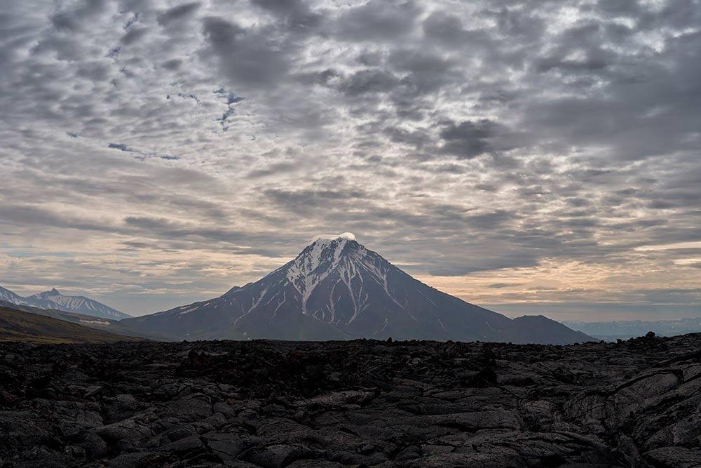 Вид на вулкан Большая Удина. Источник: Эрнест Леонидов